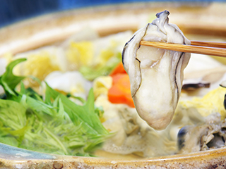 牡蠣のれもん鍋